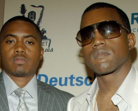 Kanye West Announces Release Date For Nas' New Album