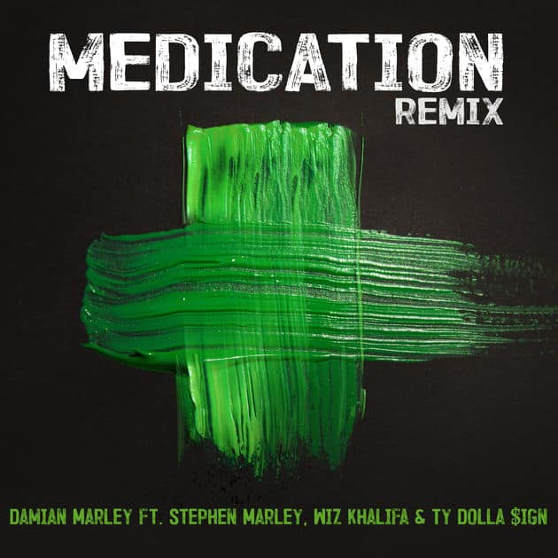New Music Damian Marley (Ft. Stephen Marley, Wiz Khalifa & Ty Dolla Sign) - Medication (Remix)