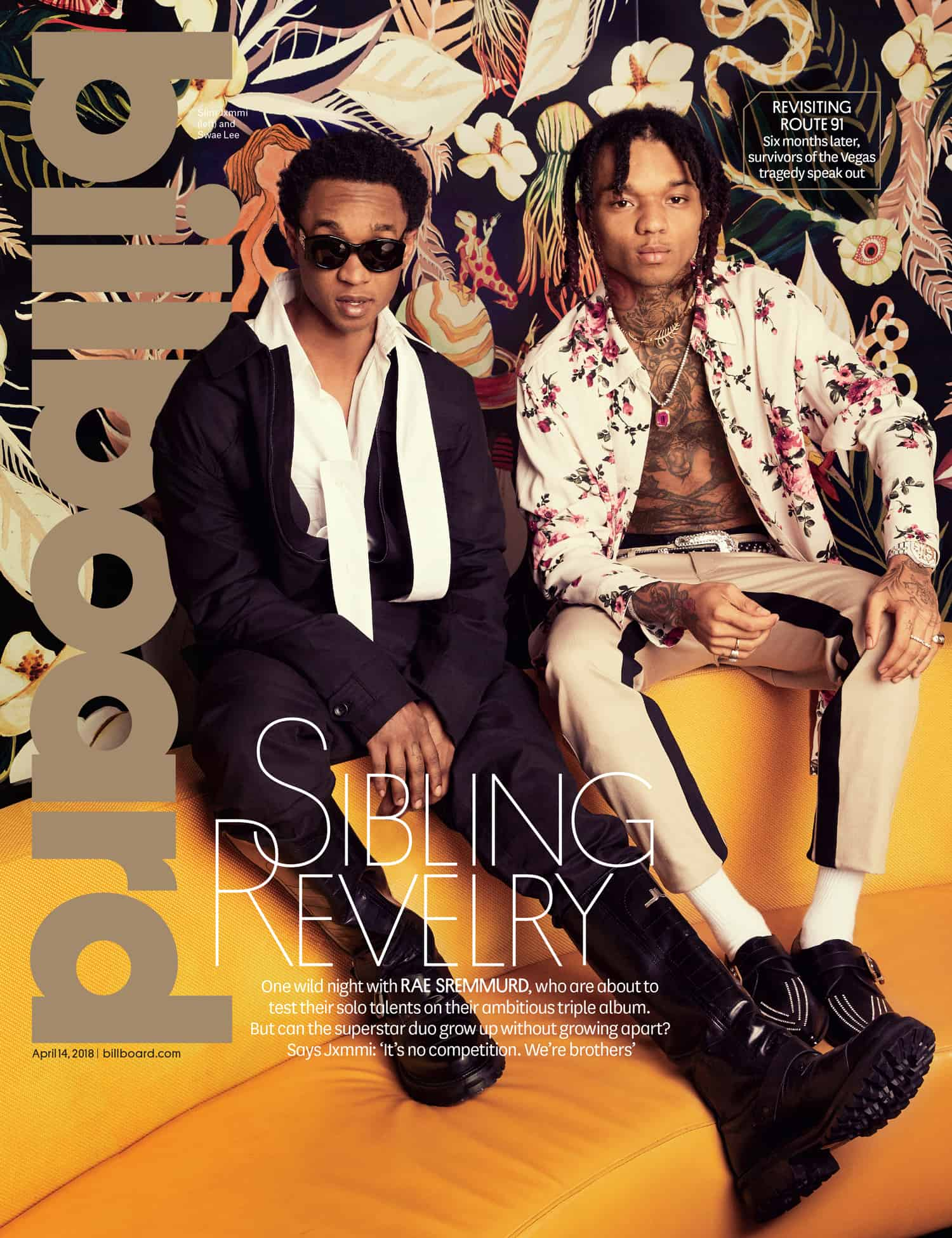 Rae Sremmurd Covers Billboard Magazine