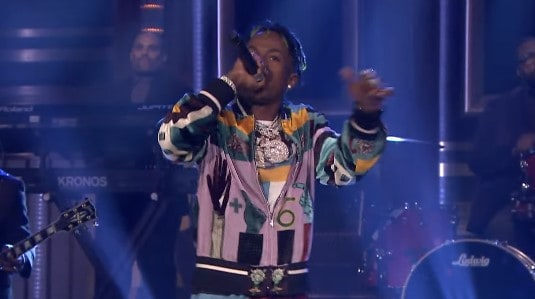 Rich The Kid Performs Plug Walk On Jimmy Fallon