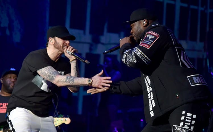 Watch Eminem Performs at Coachella 2018; Brings Out Bebe Rexha, Dr. Dre & 50 Cent