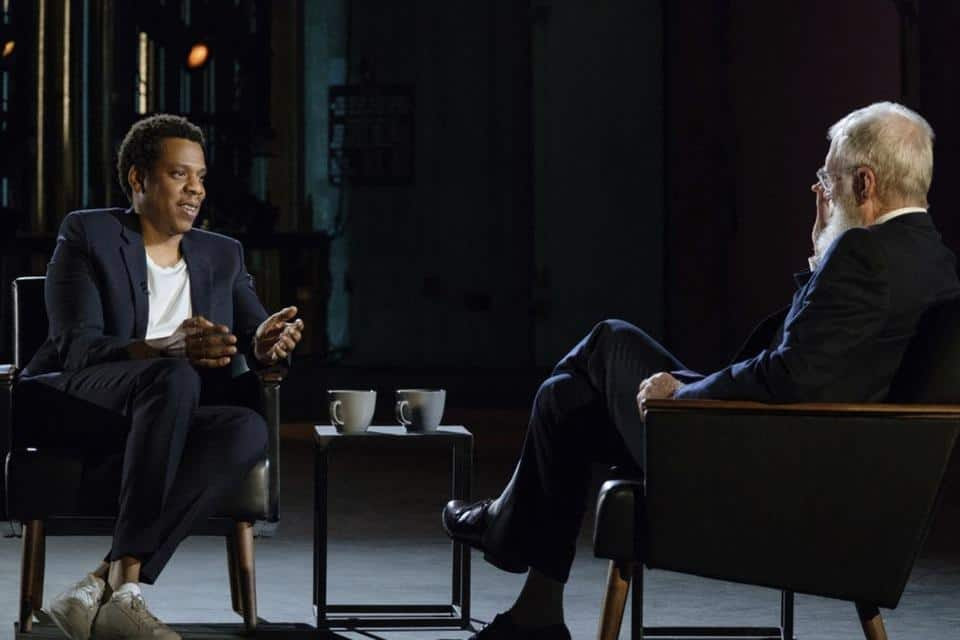 Watch JAY-Z's Interview With David Letterman