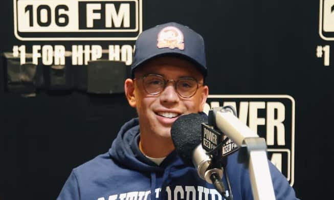 Watch Logic Reveals He has Several Albums Done Already on Power 106 LA