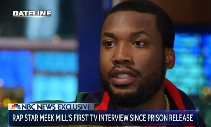 Watch Meek Mill's New Interview with NBC Nightly News After Releasing From Prison