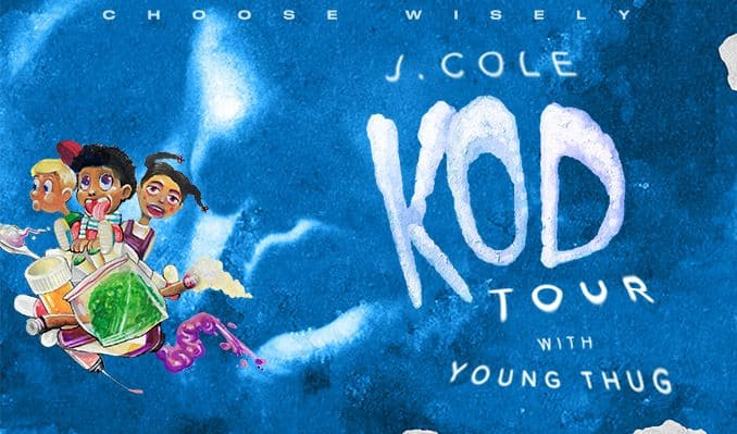 J. Cole Announces 'KOD' North American Tour with Young Thug