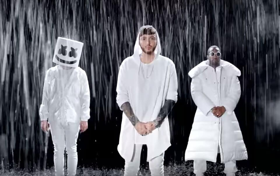 New Video Marshmello & Juicy J (Ft. James Arthur) - You Can Cry