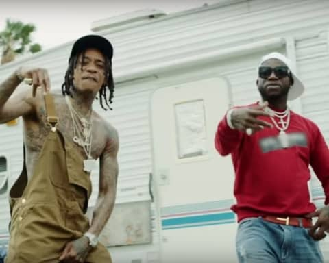 New Video Wiz Khalifa (Ft. Gucci Mane) - Real Rich
