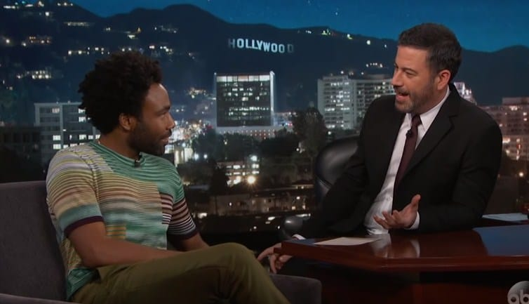 Watch Childish Gambino's Interview on Jimmy Kimme Live!