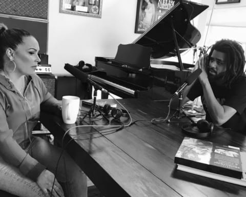 Watch J. Cole's Interview with Angie Martinez