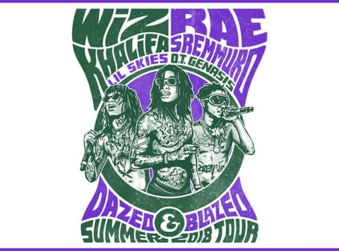 Wiz Khalifa & Rae Sremmurd Announces 'Dazed & Blazed' Summer 2018 Tour
