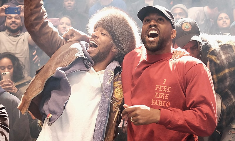 Kanye West & Kid Cudi Reveals 'Kids See Ghosts' Album Cover Art