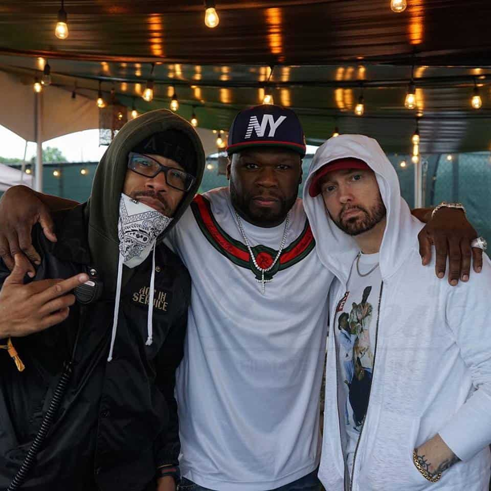 Watch Eminem Performed At Governors Ball; Brings Out Phresher & 50 Cent
