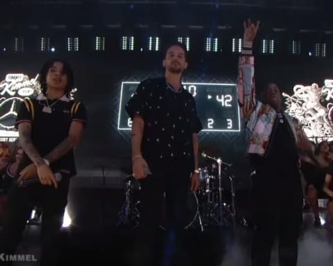 Watch G-Eazy, Yo Gotti & YBN Nahmir Perform '1942' on Jimmy Kimmel Live