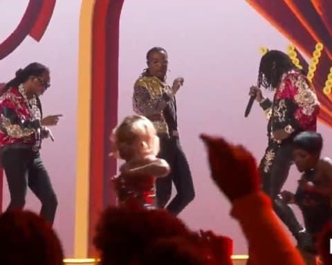 Watch Migos Perform 'Walk It Talk It' & 'Stir Fry' at 2018 BET Awards