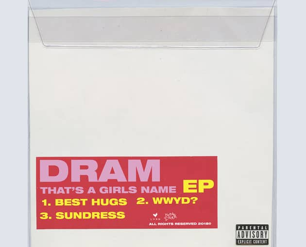 Stream DRAM's New Three Song EP 'That's A Girls Name'