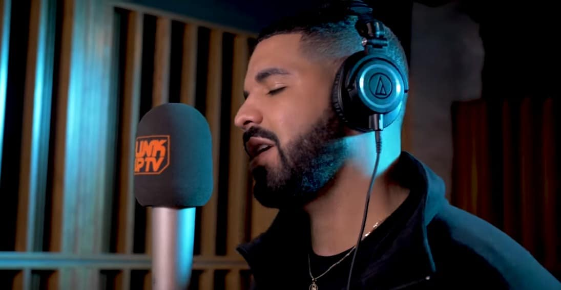 Watch Drake's 'Behind Barz' Freestyle for Link Up TV