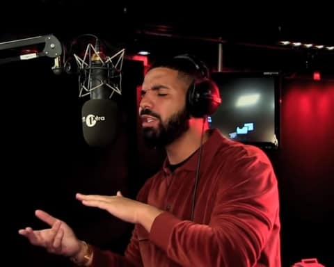 Watch Drake's 'Fire In The Booth' Freestyle with Charlie Sloth on BBC 1xtra
