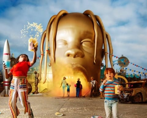 Travis Scott Unveils 'Astroworld' Album Cover Art