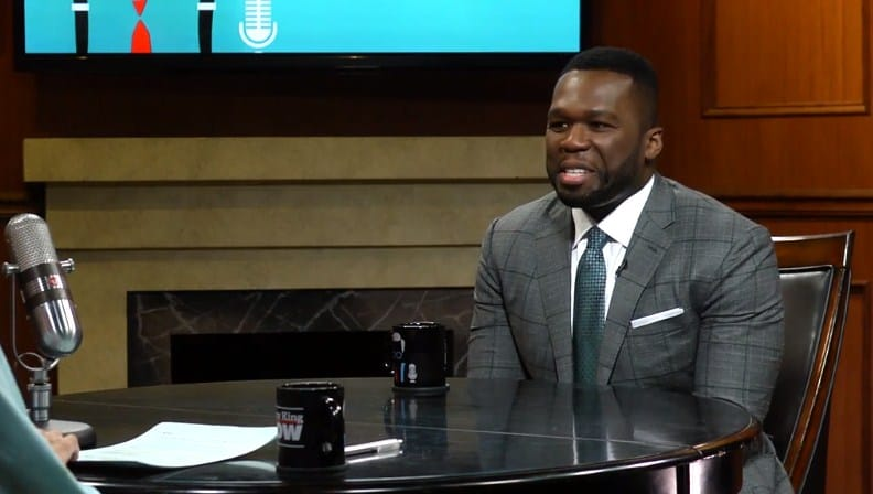 Watch 50 Cent Reveals He's Working on New Music with Eminem (Interview with Larry King)