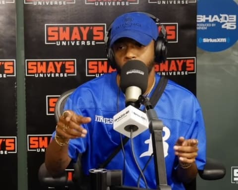 Watch 6LACK Freestyles on Sway In The Morning Show