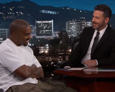 Watch Kanye West's Interview on Jimmy Kimmel Live