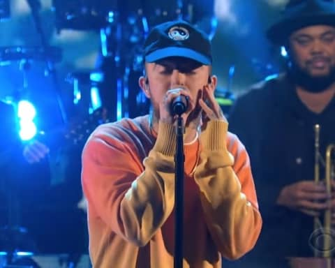 Watch Mac Miller Performs 'Ladders' on The Late Show with Stephen Colbert