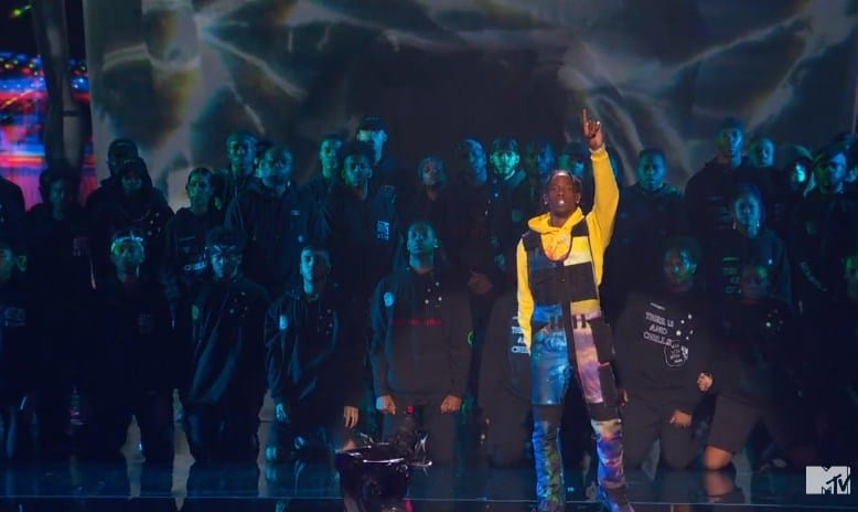 Watch Travis Scott Performs 'ASTROWORLD' Medley at MTV VMAs 2018