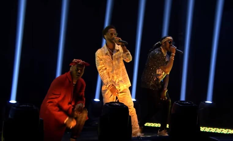 Watch YG, 2 Chainz & Big Sean Performs 'Big Bank' on Jimmy Fallon Show