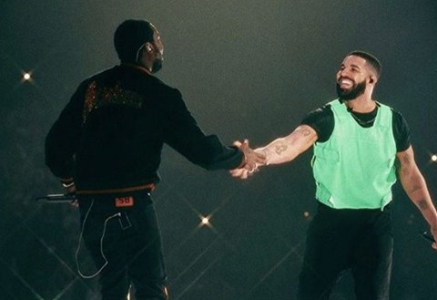 Drake Brings Out Meek Mill In Boston