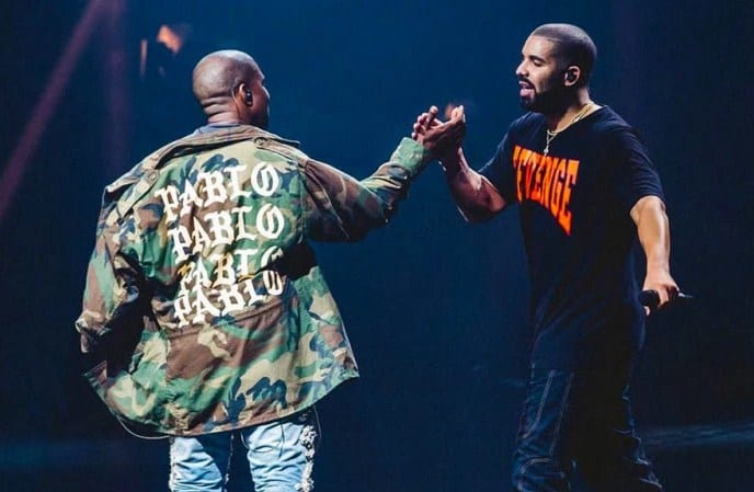 Kanye West Addresses Drake & Nick Cannon in a series of Instagram Posts