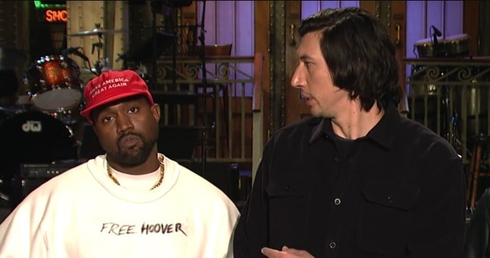 Kanye West Performs On Saturday Nigh Live (SNL)