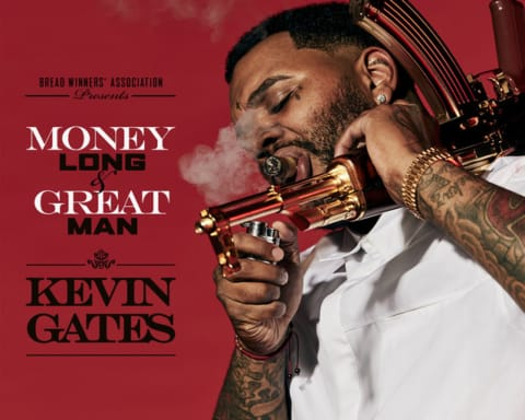 Listen to Kevin Gates' Two New Songs 'Great Man' & 'Money Long'