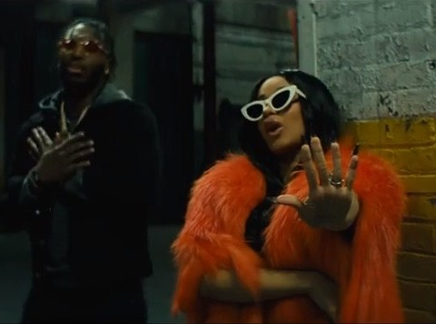 New Video Pardison Fontaine (Ft. Cardi B) - Backin' It Up