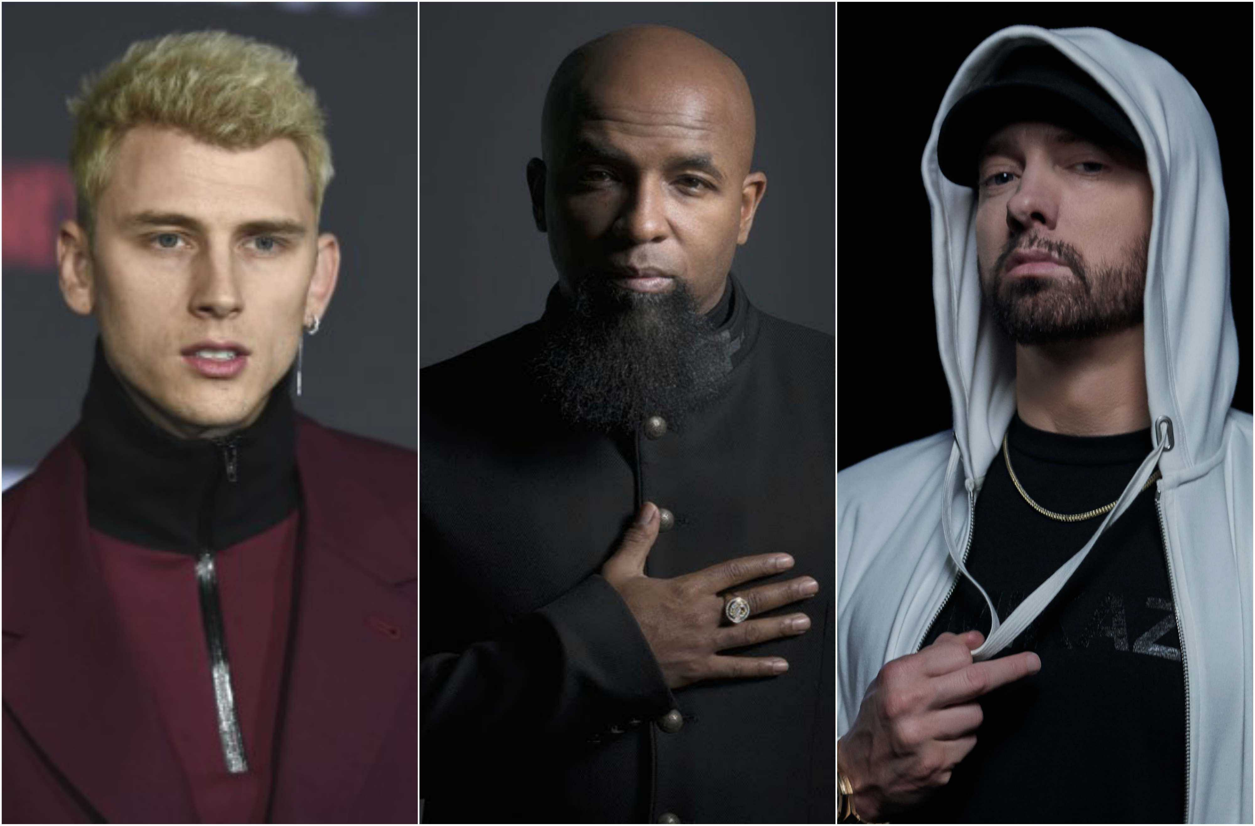 Tech N9ne Talks About Eminem & Machine Gun Kelly's Feud