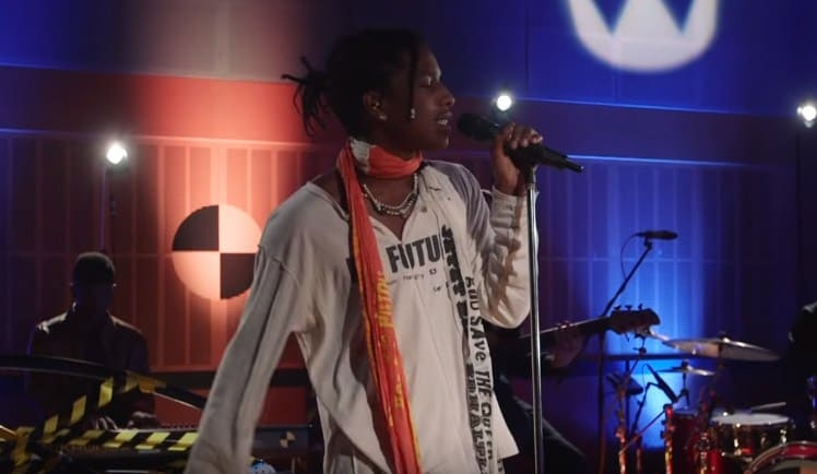 Watch ASAP Rocky Covers Otis Redding's (Sittin' On) The Dock of the Bay