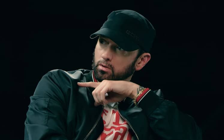 Watch Eminem Talks BET Cypher, Dissing Tyler on 'Fall' & More in Interview with Sway Calloway (Part 3)
