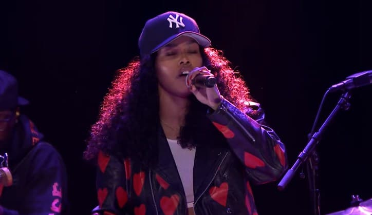 Watch Teyana Taylor Performs 'Gonna Love Me' & 'Rose In Harlem' on Jimmy Fallon Show