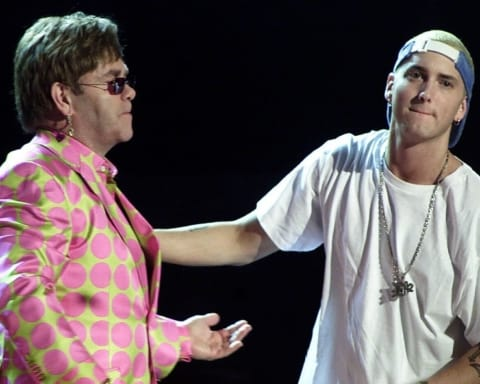 Eminem talks Revival, BET Hip Hop Cypher, Kamikaze & More on Elton John's Show