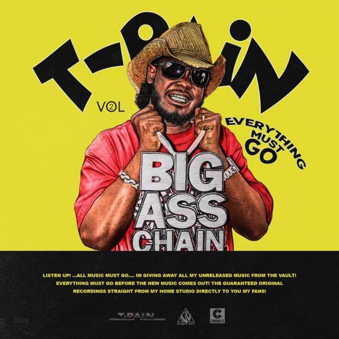 Listen To T-Pain's 12 Unreleased Songs Pack 'Everything Must Go Vol. 2'