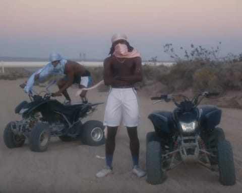 New Video Blood Orange (Ft. ASAP Rocky & Project Pat) - Chewing Gum
