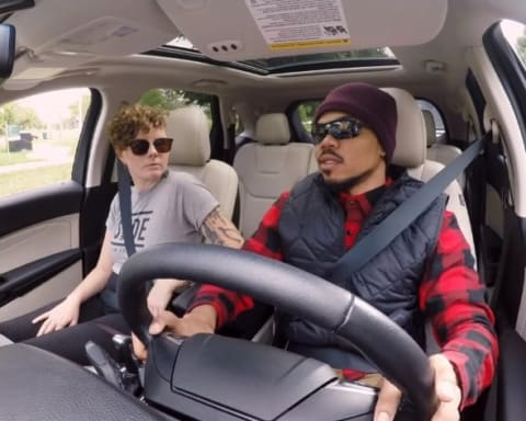 Watch Chance The Rapper Surprises Fans as Lyft's Undercover Driver