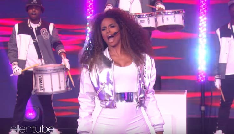 Watch Ciara Performs 'Level Up' & 'Dose' on The Ellen Show