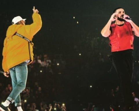 Watch Drake Brings Out Chris Brown in L.A. To End Beef