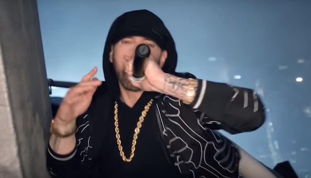 Watch Eminem Performs 'Venom' From the Empire State Building in New York