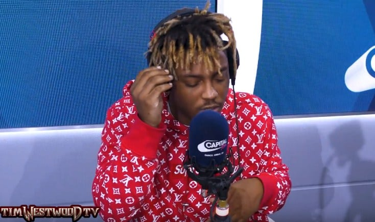 Watch Juice WRLD Freestyles For 50 Minutes Over Eminem Beats