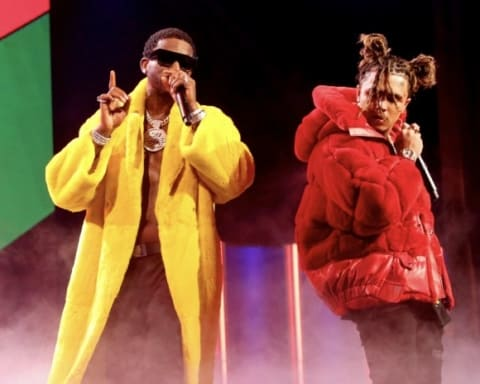 Watch Lil Pump & Gucci Mane Performs Medley at BET Hip-Hop Awards 2018