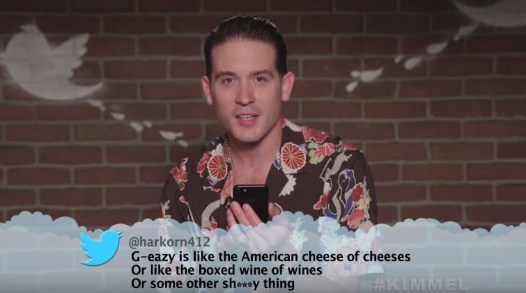 Watch ScHoolboy Q, Tyga, G-Eazy & More Read Mean Tweets on Jimmy Kimme Live