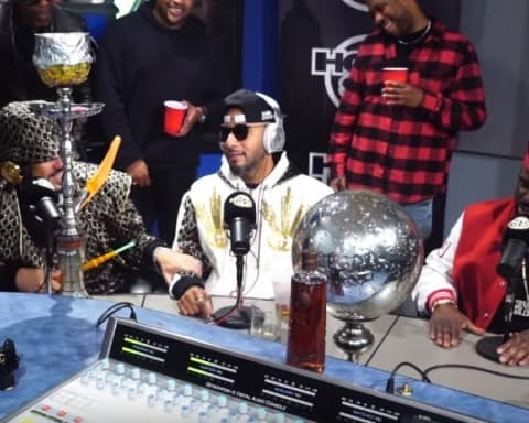 Watch Swizz Beatz & French Montana Freestyles on Funk Flex's show