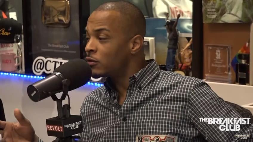 Watch T.I.'s Interview on The Breakfast Club
