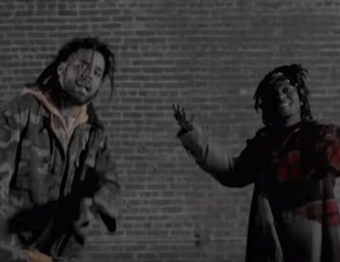 New Video J.I.D (Ft. J. Cole) - Off Deez
